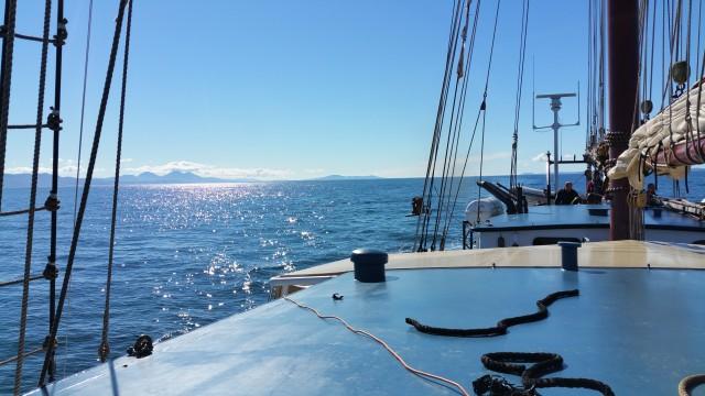 Zeilreis Noordzee