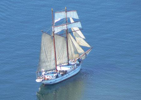 Van Amsterdam naar de Orkney Islands